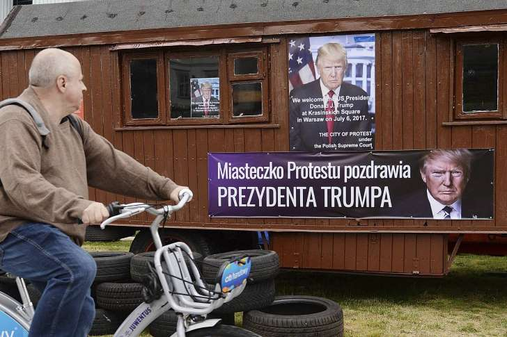 Poland Prepares 'Absolutely Huge' Welcome for Trump - CLICK HERE TO FERRET OUT THIS STORY