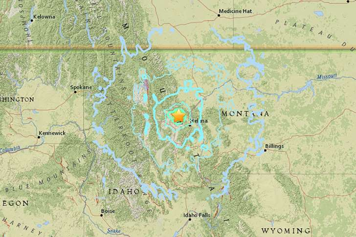 Magnitude-5.8 earthquake strikes in western Montana - See the prespectives on this story