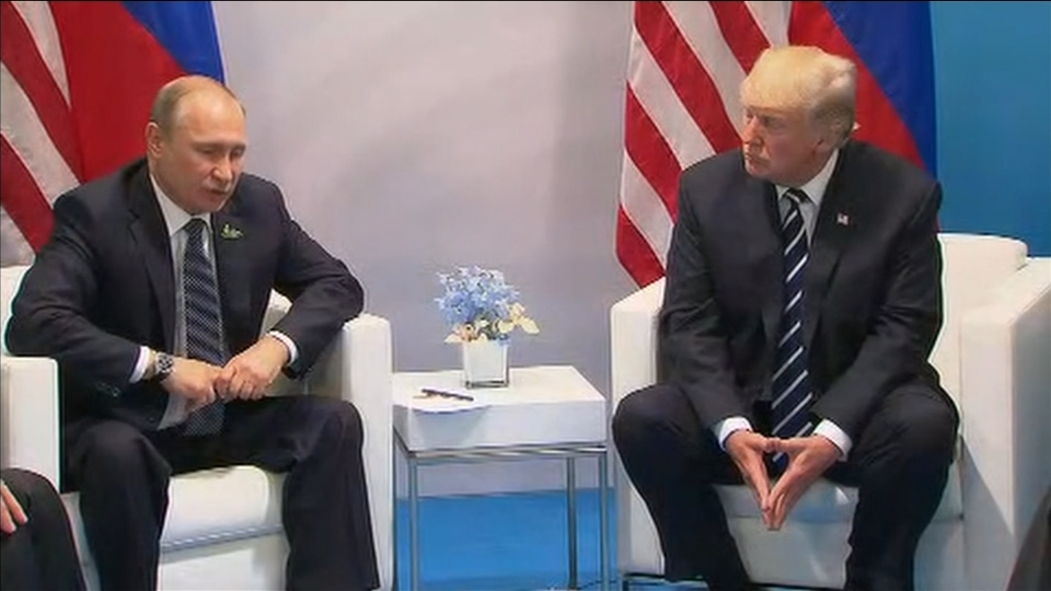 Trump calls Putin meeting an