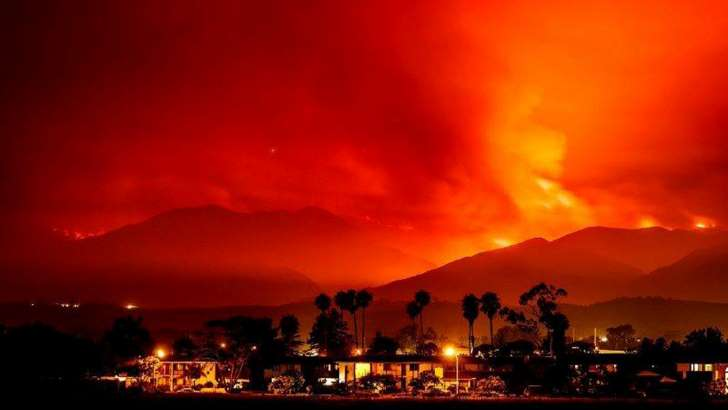 Thousands flee wildfires in California; Canada blazes grow - See perspective on this story