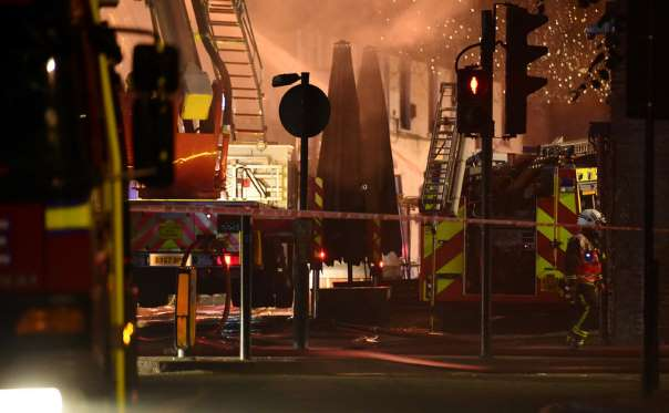 Fire in London's Camden Market brought under control - Ferret out this news story