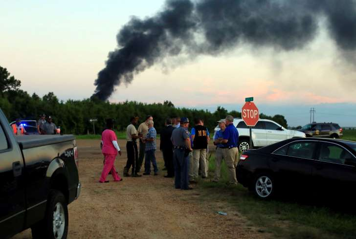 At least 16 die in military plane crash in rural Mississippi - See perspectives on this story