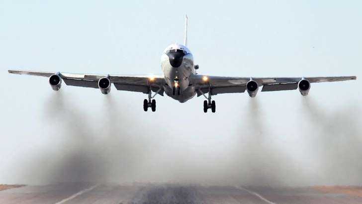 Chinese fighter jets buzz US Navy spy plane in East China Sea - See the prespectives on this story