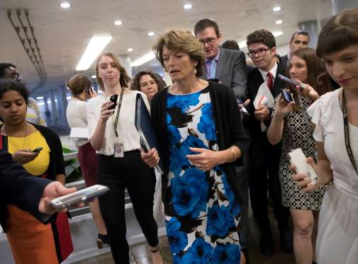 Trump assails GOP senator who opposed health care bill - See perspectives on this story