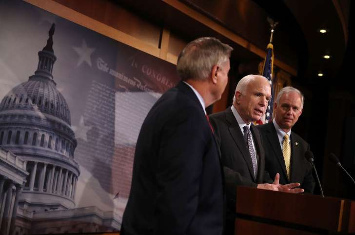 Johnson suggests McCain's health may have affected his Obamacare vote - See perspectives on this story