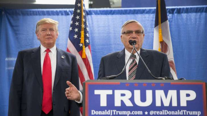 White House has paperwork ready for Joe Arpaio pardon - See perspectives on this story