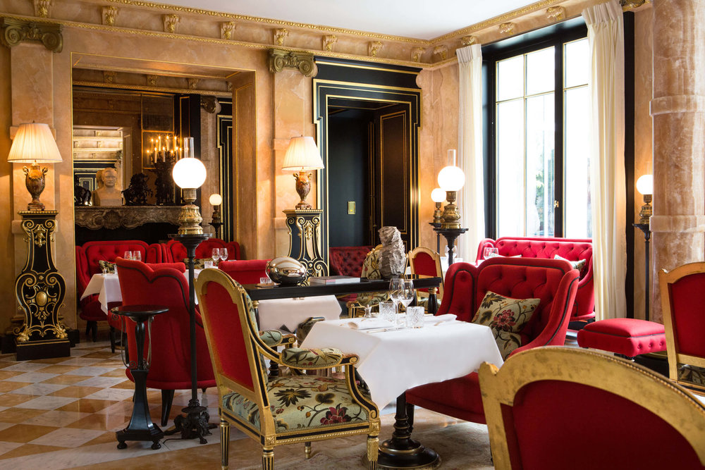 Feeling like royalty at La Reserve Paris. Photo: La Reserve Paris