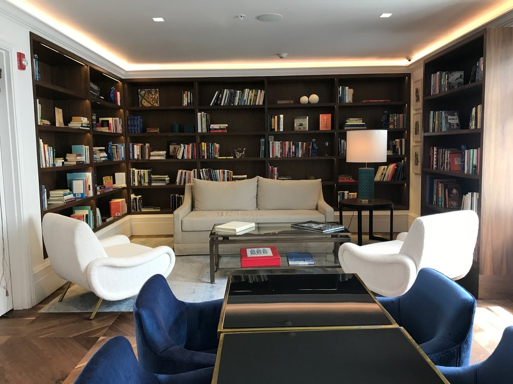 Library at The Betsy South Beach