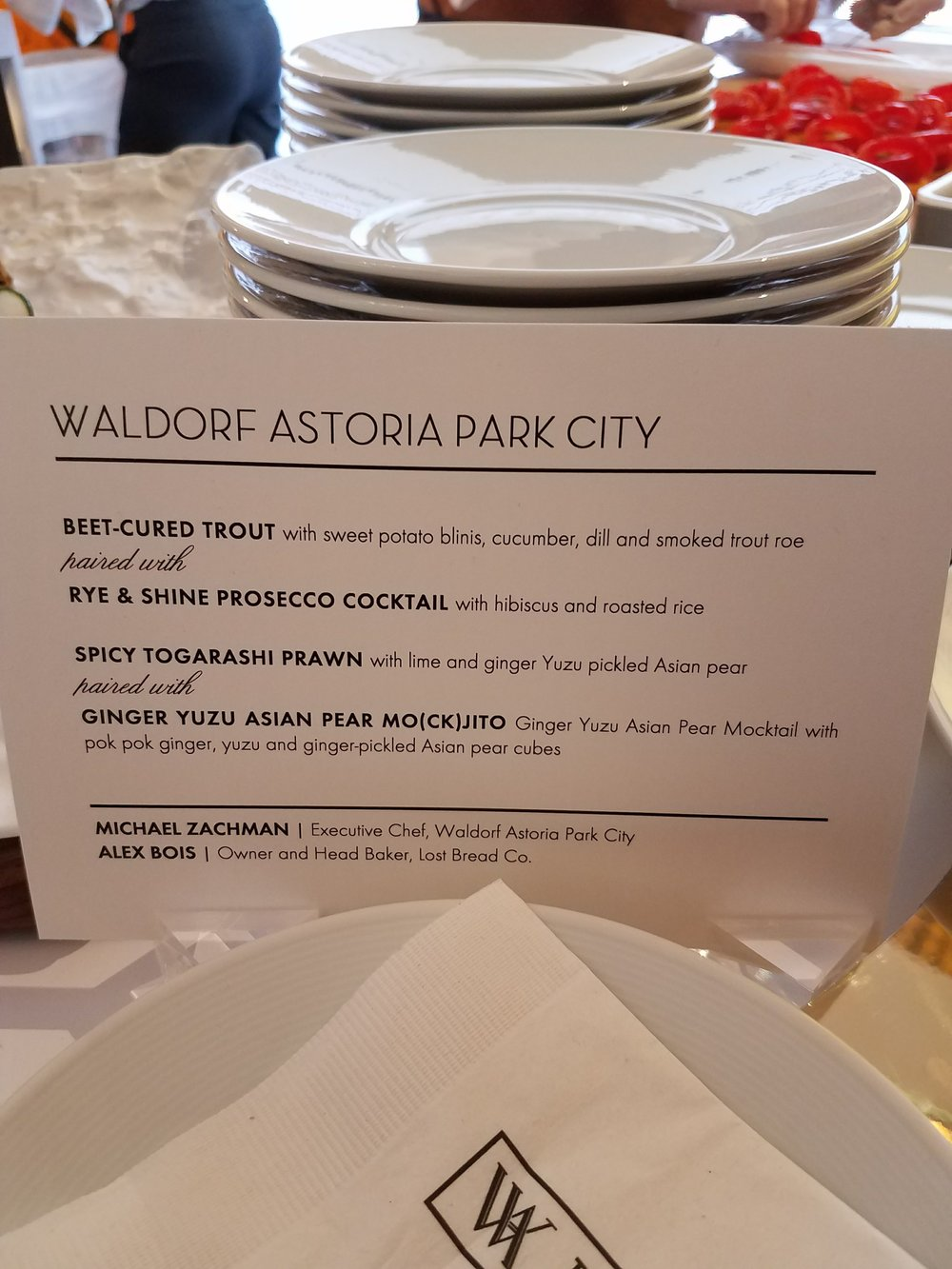 The winners of Taste of Waldorf!