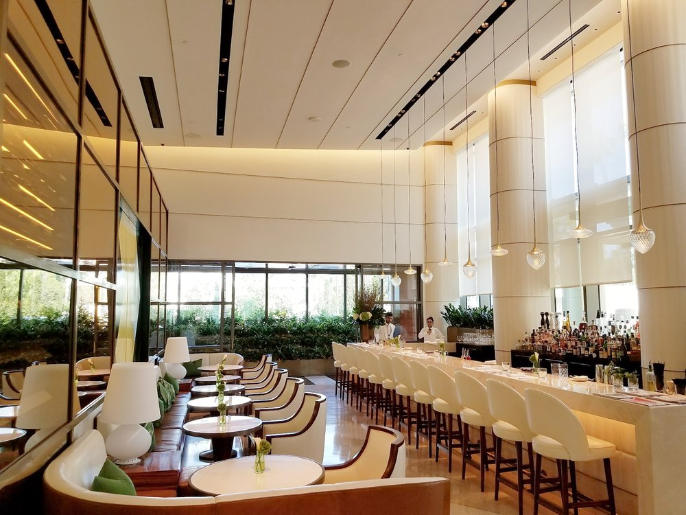How amazing is the new Jean-Georges Beverly Hills bar??