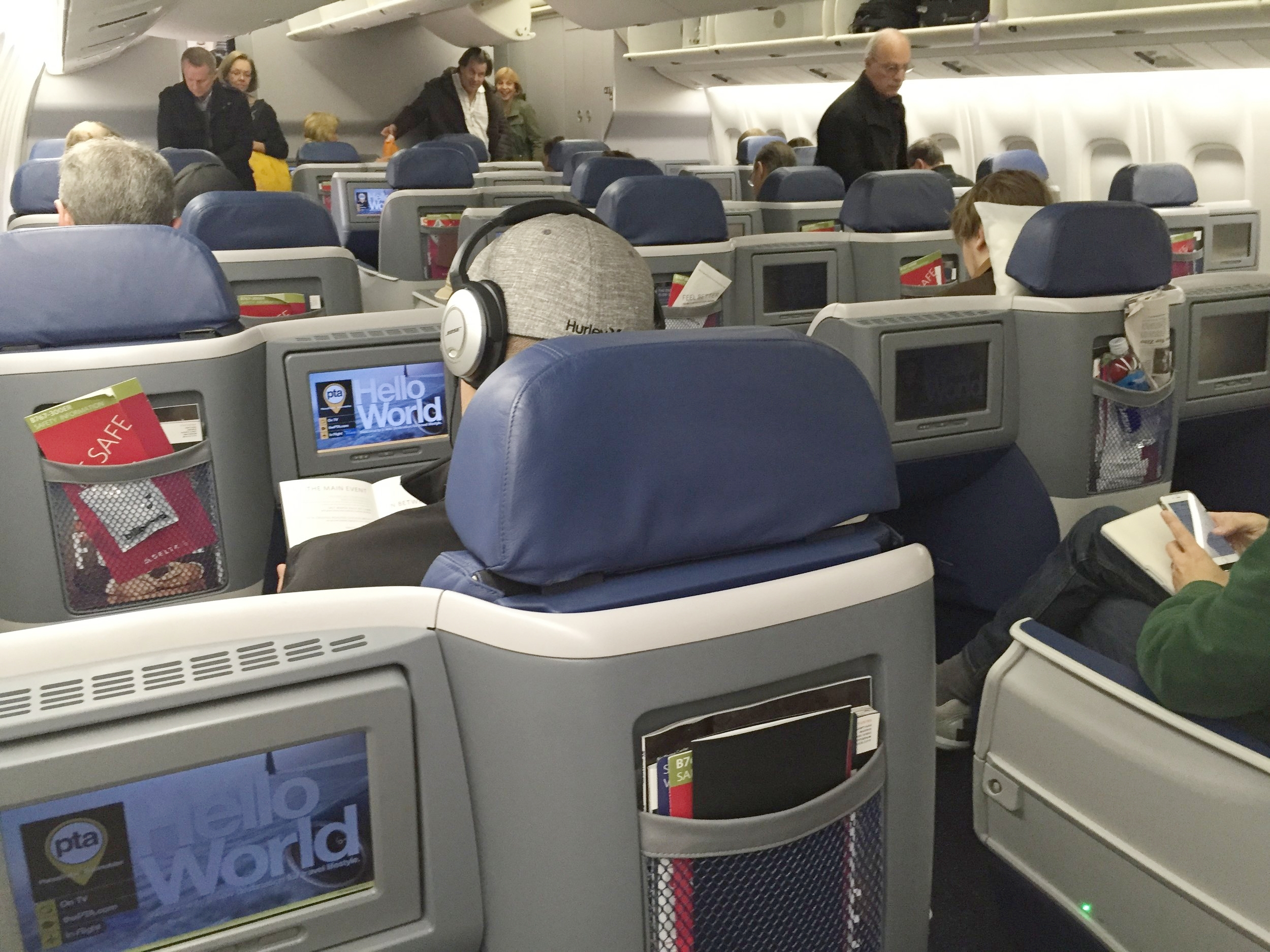 How to Behave when Flying First Class
