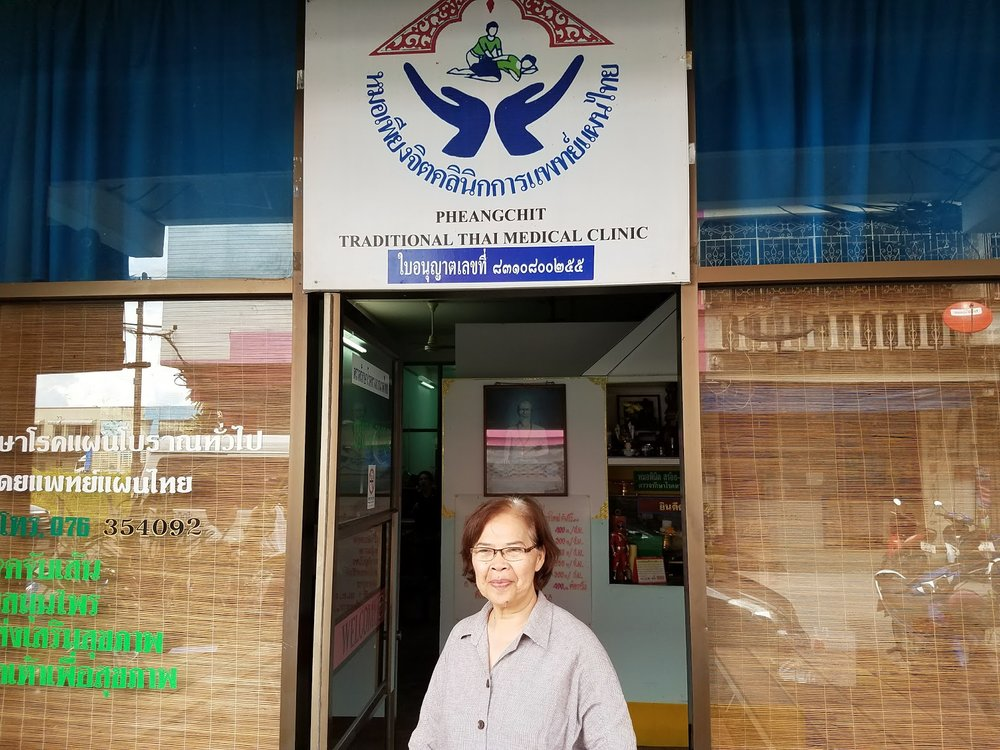Owner of  Pheangchit Traditional Thai Medicinal Clinic