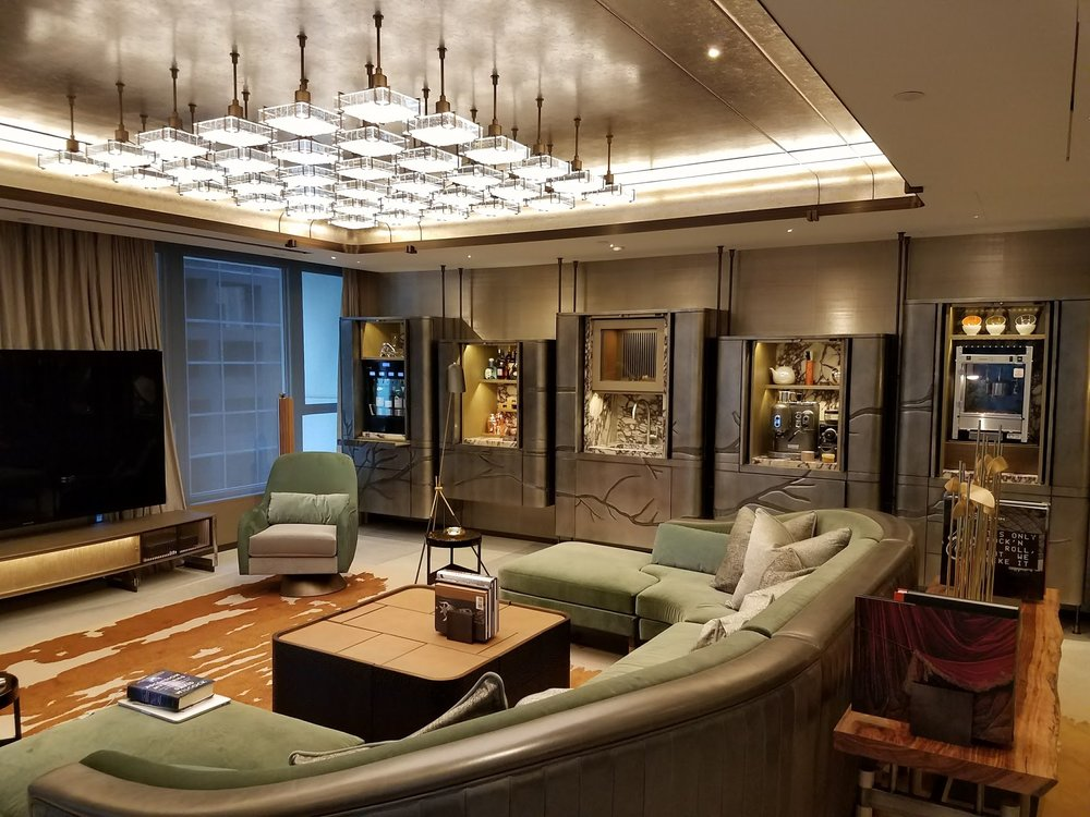 The new Entertainment Suite at Landmark Mandarin Oriental Hong Kong.