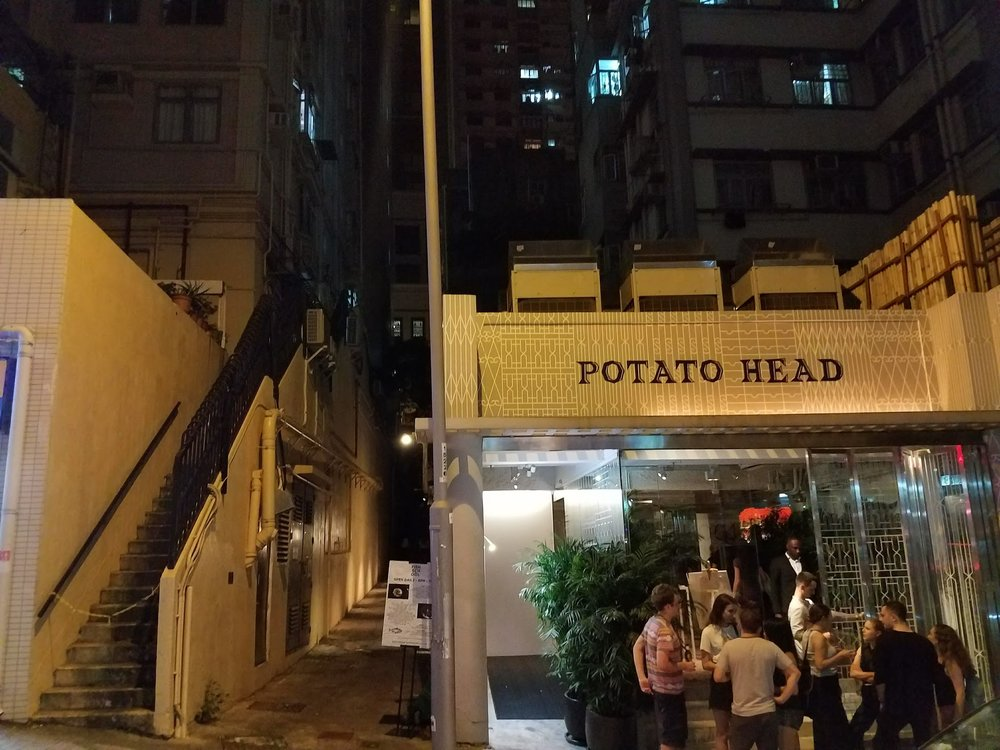 The hipsterfied Potato Head bar in Shan Wai.