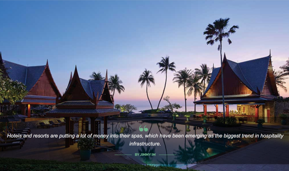 Chiva Som, a wellness resort that I included in this story for Passport magazine.