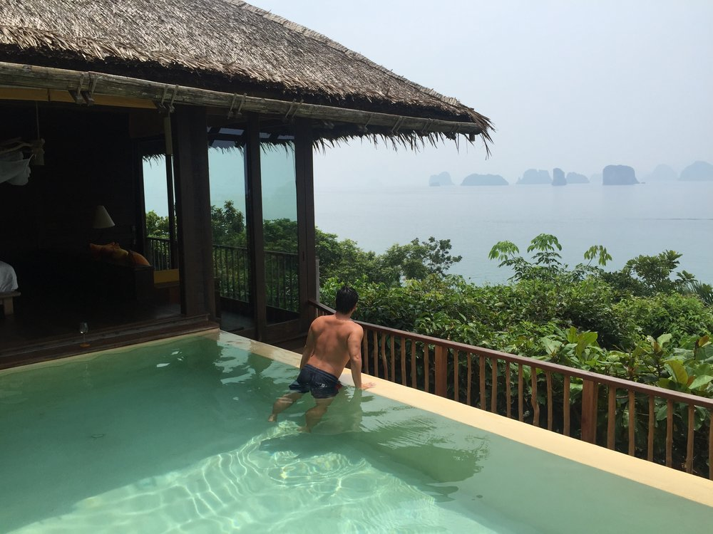 Discovering a beautiful hotel on a far-flung island in Thailand.