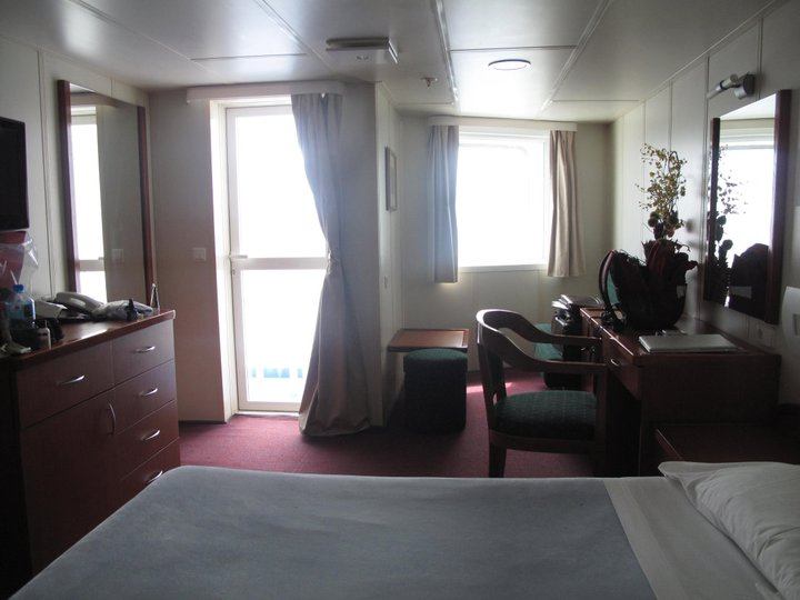 My suite on the Aranui.