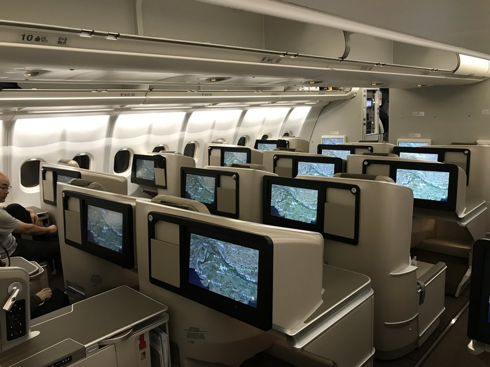 During Dead Week, this business-class seat is basically half off.