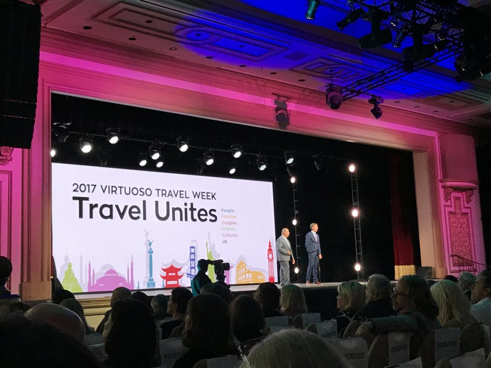 Virtuoso conference in Las Vegas.
