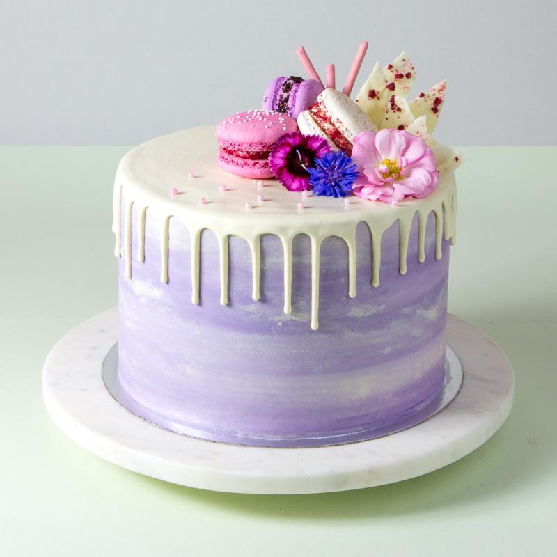 "8"" Vanilla Chiffon Cake"