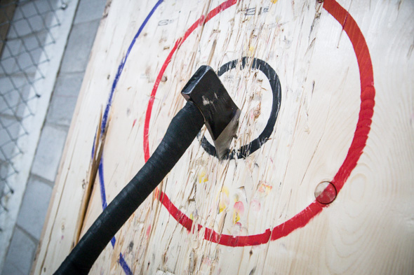 MOBILE AXE THROWING - We are pretty sure this is the coolest thing you could bring to any private party or event. We are the only company in MD, VA, and DC that provides mobile axe throwing to private events. It's never been heard of, it's extremely safe, and let's be honest, IT'S BAD ASS!
