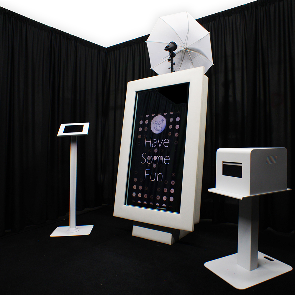 DRAPE Enclosed Booth - Photo Booth Enclosures will always