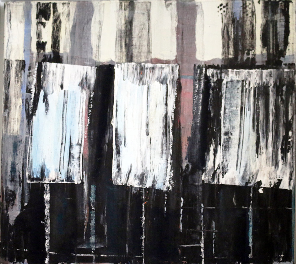 Peter Rossiter  Abstract 'Piano'   Acrylic on Canvas £240