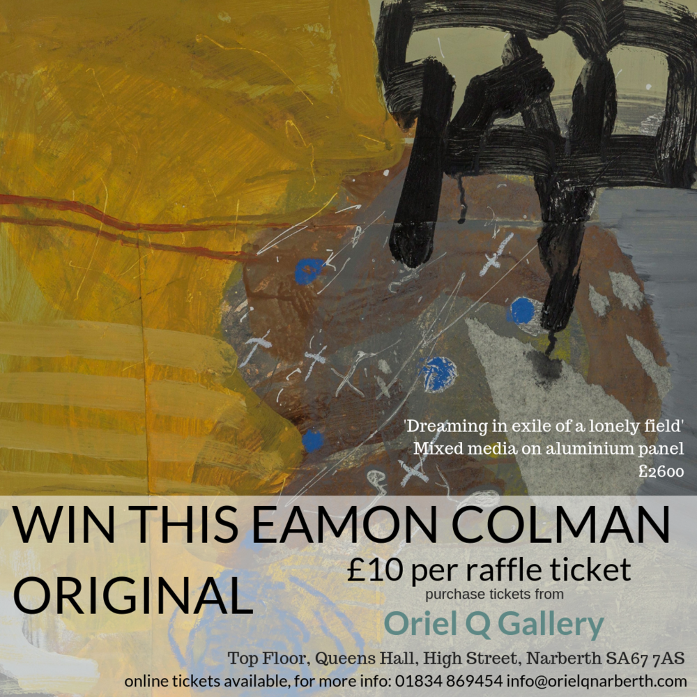 Eamon Colman Painting Raffle Draw Oriel Q Gallery