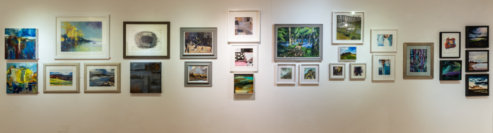 Images of Winter Open Exhibition 2018 at Oriel Q Photo credit: David Street