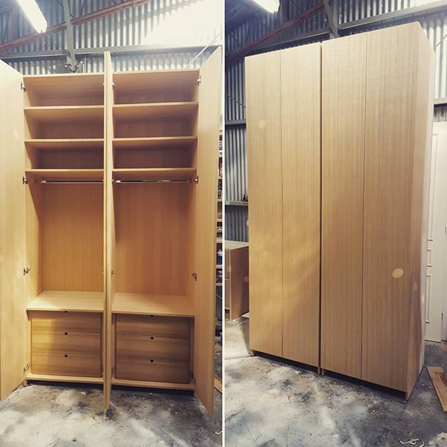 Tasie Oak Wardrobes.