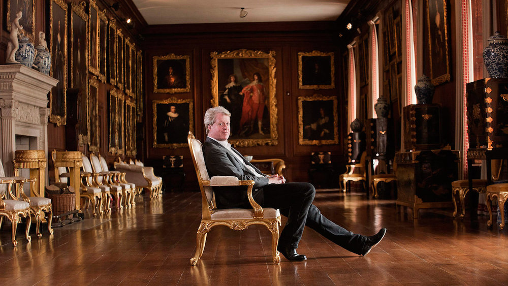 Charles edward Maurice, 9th Earl Spencer, also famous as Princess Diana's younger brother.