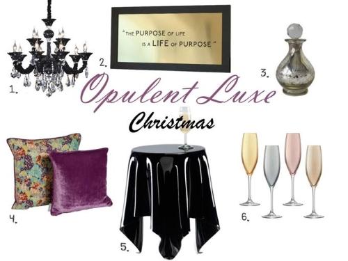 Opulent luxe trend