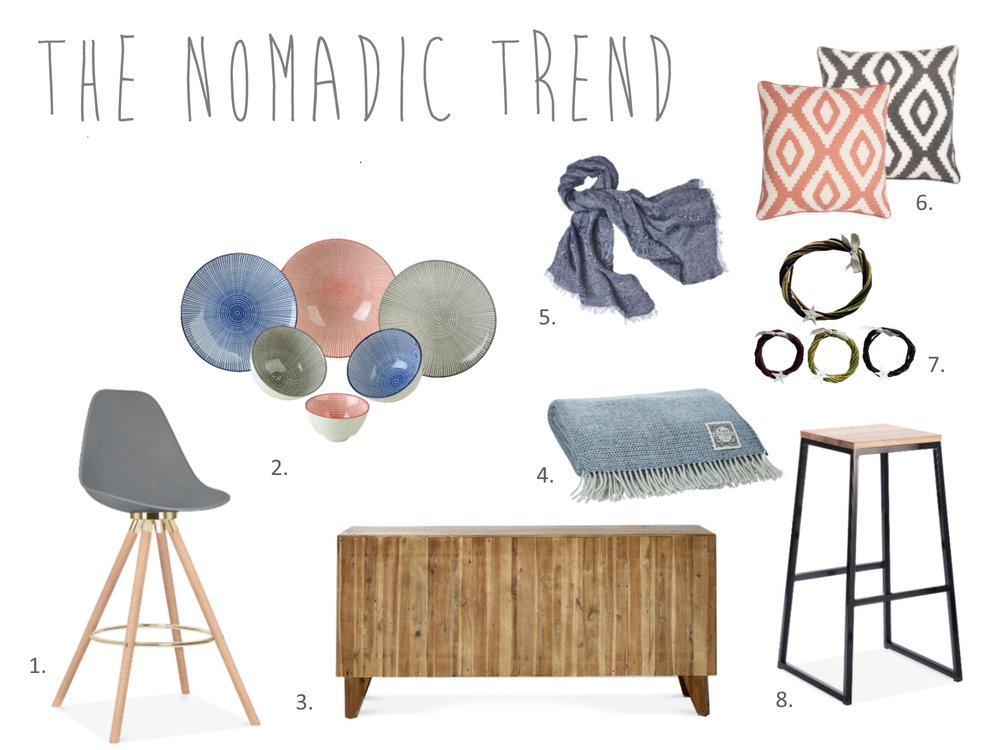 AW17 Interior trend: Nomadic