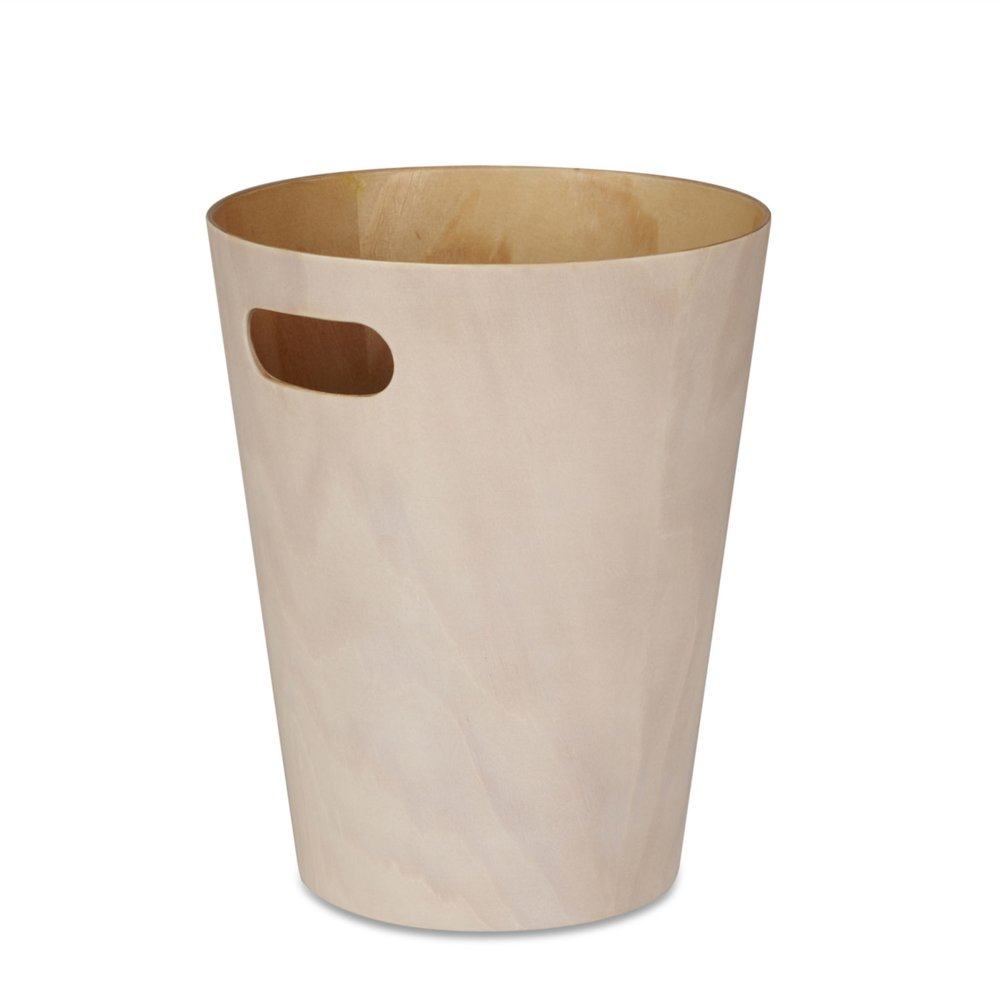 Umbra Woodrow Waste Bin - Red Candy - £20.00