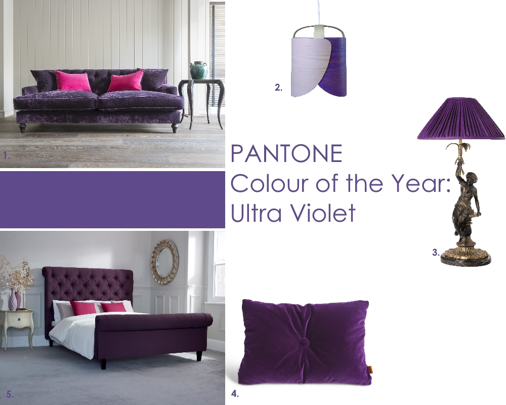 Panton Colour of the Year 2018: Ultra Violet