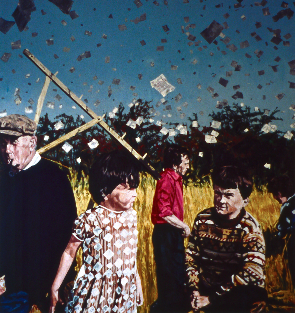 In the Front Field, 1993