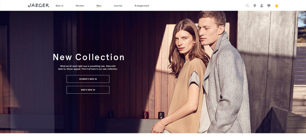 New Collection Homepage