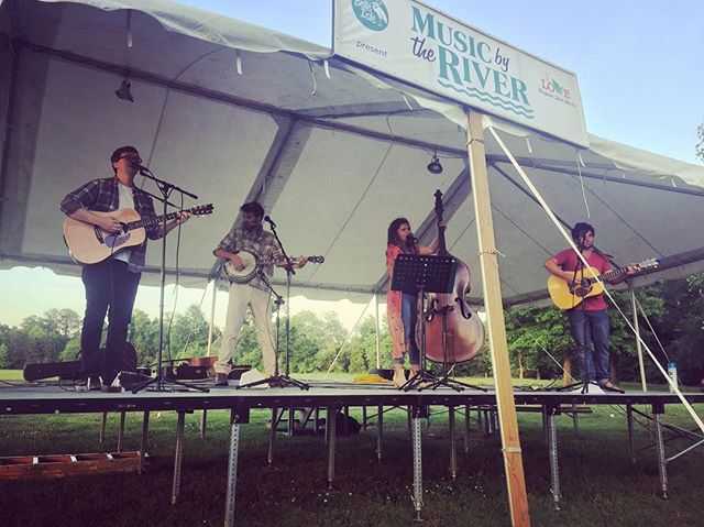 We had a blast playing the Music by The River Series at Belle Isle State Park in #lancasterva. Crowd was awesome, views were spectacular.