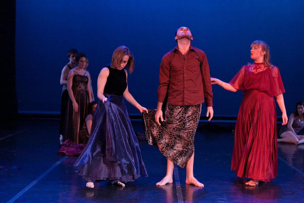 """Here, after"" choreographed by Jesse Zaritt"