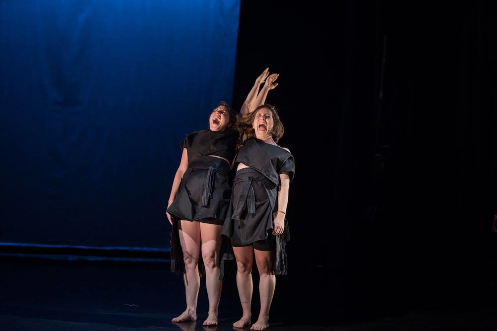 """I's and no's"" choreographed by Sarah Greenbaum"