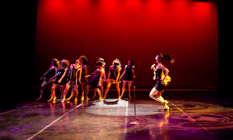 """There's only one Tina"" choreographed by Gina T'ai"