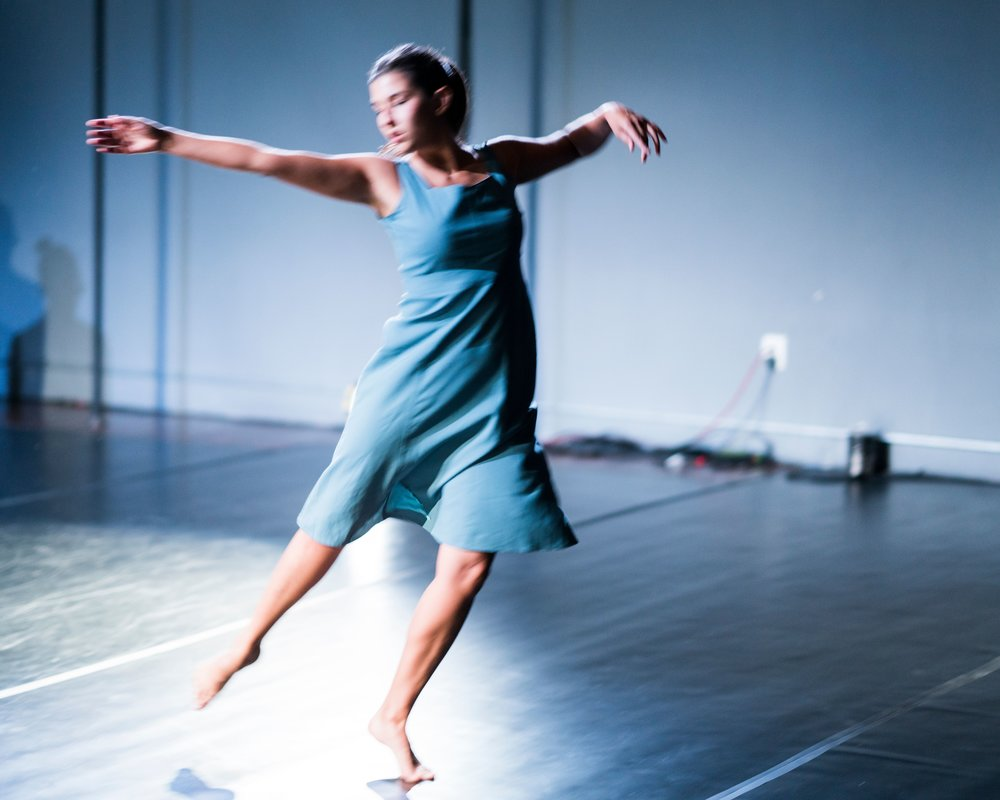 as a performer and choreographeri create work thatreveals and revels inthe messiness of humanity -