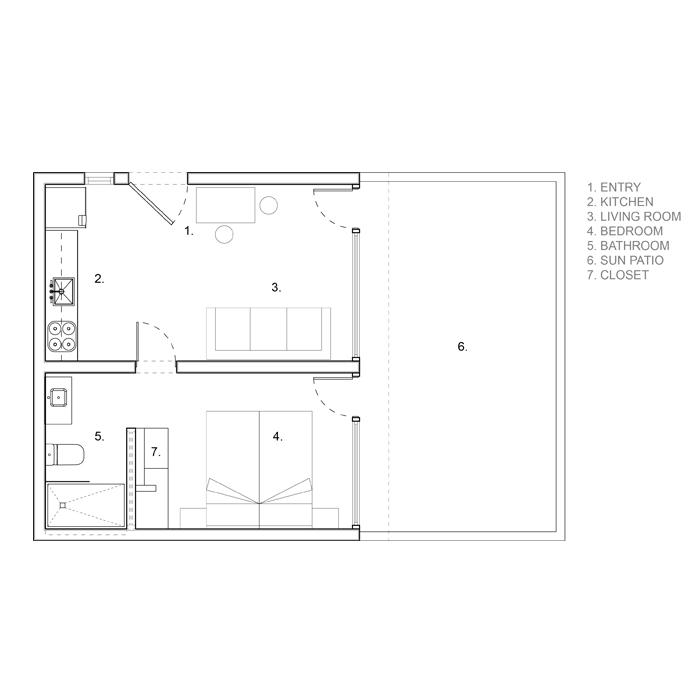 renovated floor plan