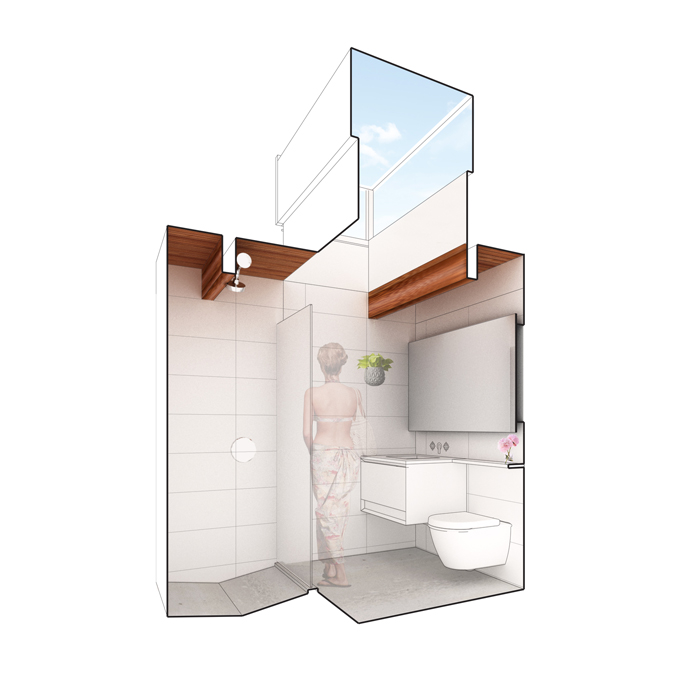 view of proposed child's bath