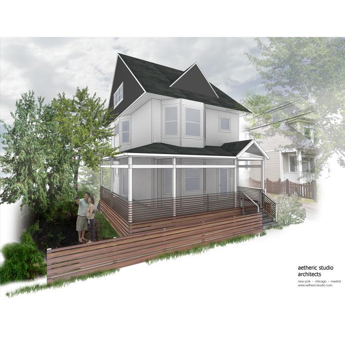 rendering of exterior