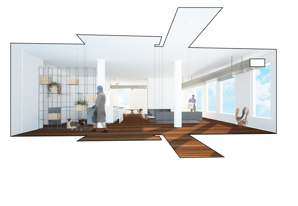 rendering of proposal