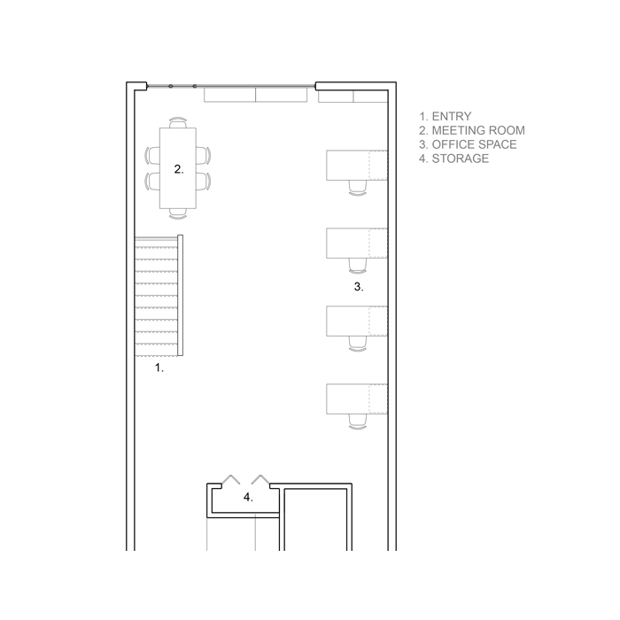 floor plan of office layout