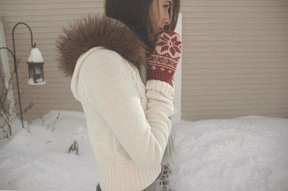 snow mittens