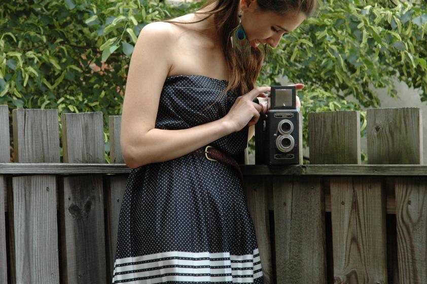 girl and camera