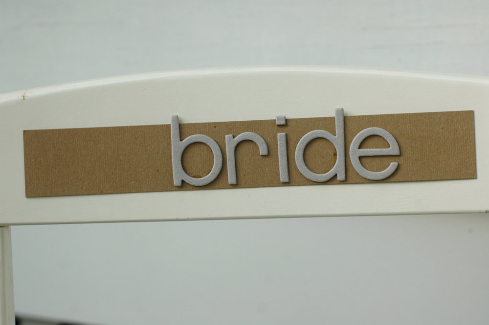 Bride chair